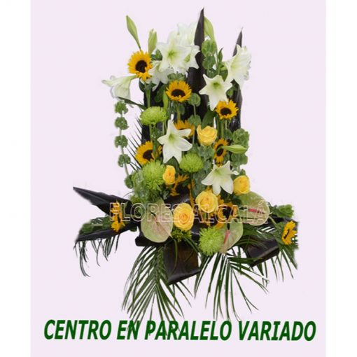 Centro Paralelo con tonos amarillos y verde y verdes de temporada