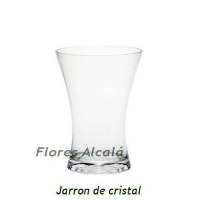 JARRÓN DE CRISTAL PARA RAMOS DE GRAN CALIDAD